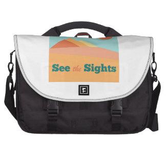 See The Sights Laptop Messenger Bag