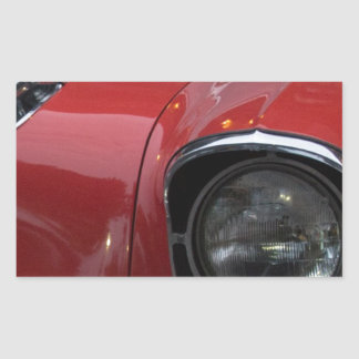 See the USA, in my Chevrolet Rectangular Sticker