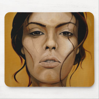 See through the sorrow eyes mouse pad