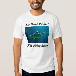 see under sea t shirts