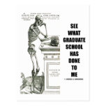 See What Graduate School Has Done To Me (Skeleton)