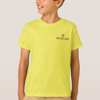 Seed Lake - pine cone logo on front, blank on back T-Shirt