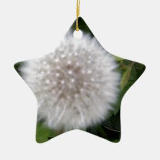 Seeded Dandelion head Christmas Ornament