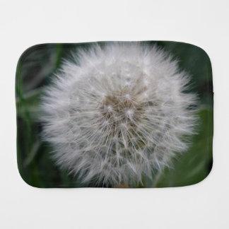 Seeding Daisy Flower Burp Cloth