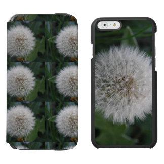 Seeding Dandelion Flower iPhone Wallet Case Incipio Watson™ iPhone 6 Wallet Case