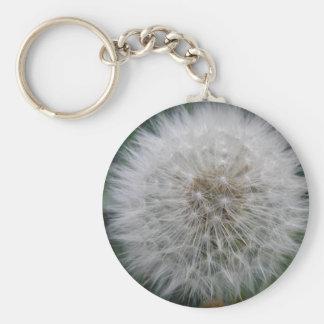 Seeding Dandelion Flower Keychain