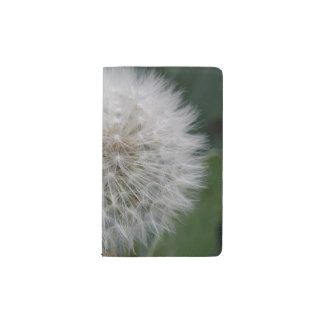 Seeding Dandelion Flower Notebook Cover