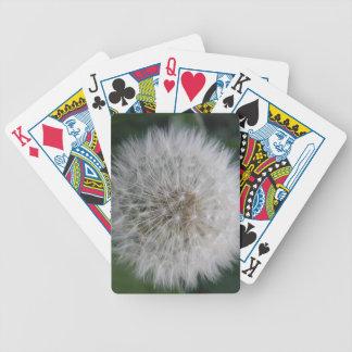 Seeding Dandelion Flower Playing Cards