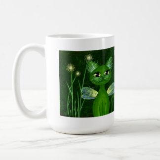 Seedling, Fantasy Fairy Kitty Coffee Mug