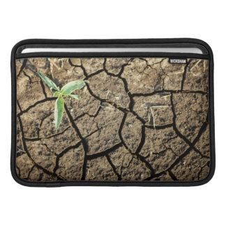 Seedling In Cracked Earth MacBook Air Sleeves
