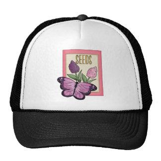 Seeds purple Butterfly Hats