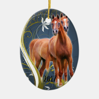 Seeing Double 2017 Christmas Ornament