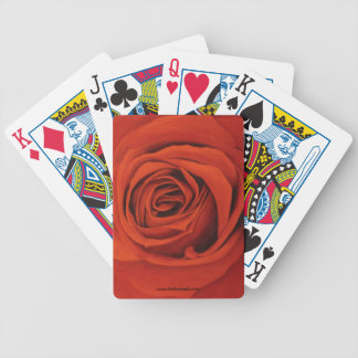 Seeing Red Playing Cards