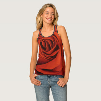 Seeing Red Racer Back Tank Top