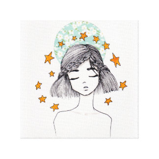 Seeing stars canvas print