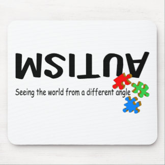 Seeing The World From A Different Angle (Pieces) Mouse Mat