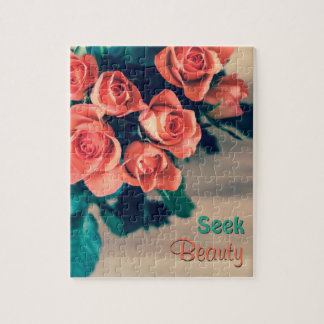 Seek Beauty Flower Puzzle with Gift Box