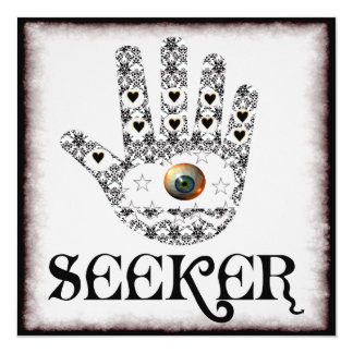 Seeker Eye 13 Cm X 13 Cm Square Invitation Card