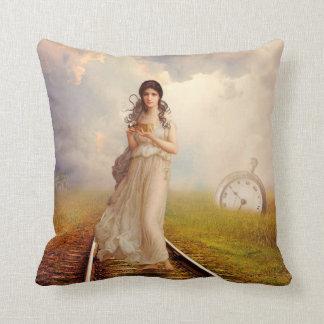 Seeker Of Time Pillow