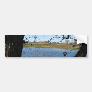 seeking serene bumper sticker