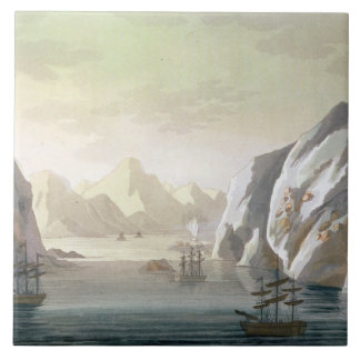 Seeking the North West Passage - the British Voyag Large Square Tile
