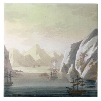 Seeking the North West Passage - the British Voyag Tile