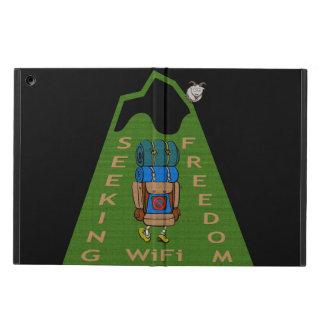 Seeking WiFi Freedom Hiker Design iPad Air Case