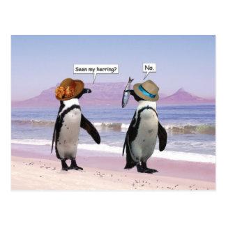 seen my herring? postcard