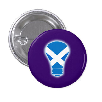 Seen the Light Scottish Independence Pinback 3 Cm Round Badge