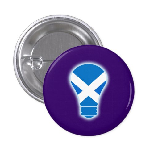 Seen the Light Scottish Independence Pinback Pinback Buttons