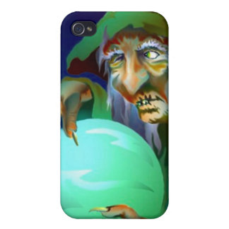Seer Futurist Reading Crystal Ball Witch Iphone 4 iPhone 4/4S Case