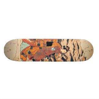 Segawa Kikunjojo 18.1 Cm Old School Skateboard Deck