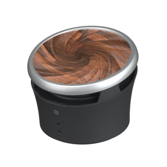 Segmented Wood design bluetooth speaker