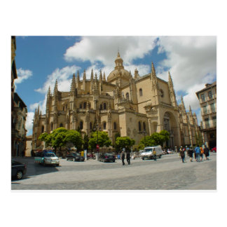 Segovia Cathedral- Spain Postcard