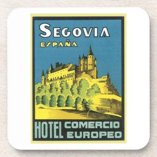 Segovia Espana Hotel Comercio Europeo Coasters