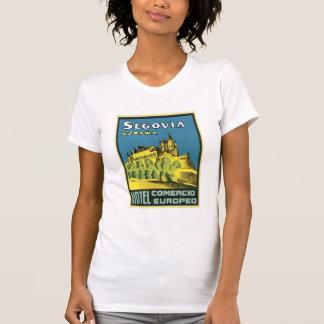 Segovia Espana Hotel Comercio Europeo Shirts