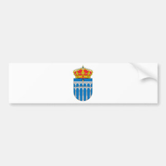 Segovia (Spain) Coat of Arms Bumper Stickers