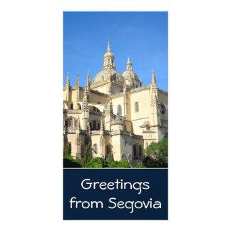 Segovia Spain Photo Card