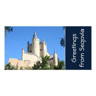 Segovia Spain Picture Card
