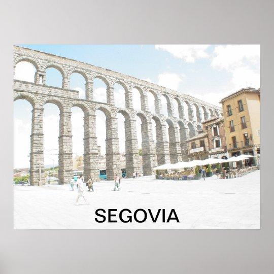 Segovia-Spain Poster