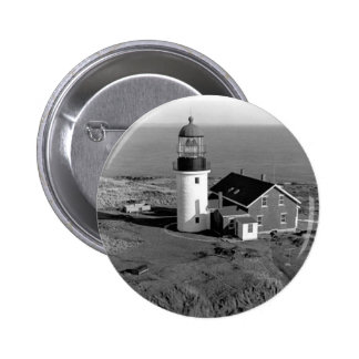 Seguin Lighthouse Pinback Buttons