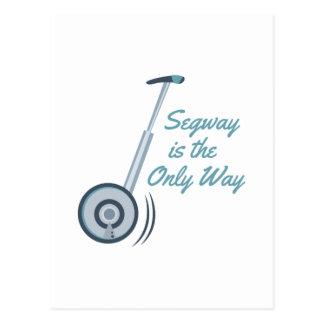 Segway Postcard