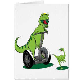 Segwayasaurus Card