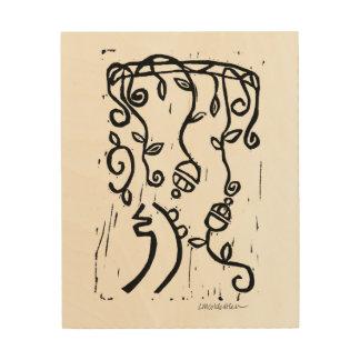Sei Hei Ki Monoprint Wood Prints