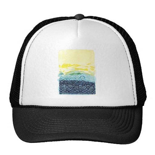 Seigaiha Series - Embrace Mesh Hat