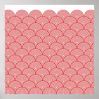 Seikai dissension (red) poster