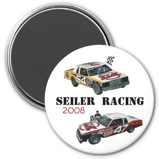 Seiler Racing '08 7.5 Cm Round Magnet