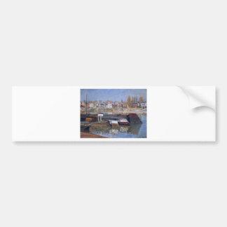 Seine at Asnieres by Claude Monet Bumper Sticker