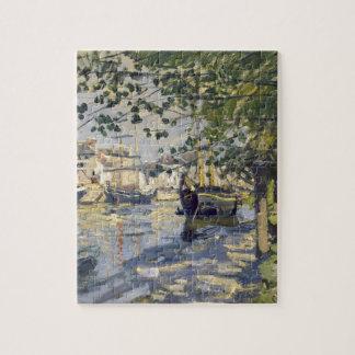 Seine at Rouen by Claude Monet Jigsaw Puzzle