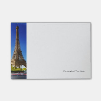 Seine In Paris With Eiffel Tower In Autumn Time Post-it Notes